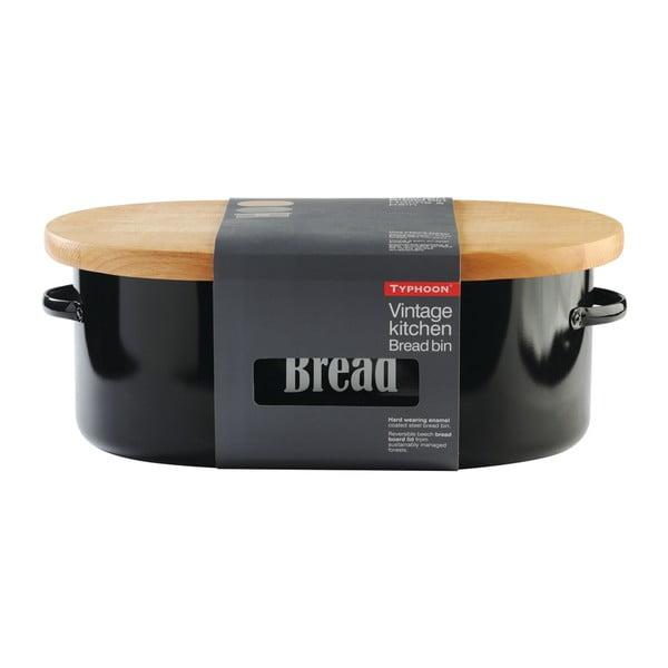 Czarny chlebak Typhoon Vintage