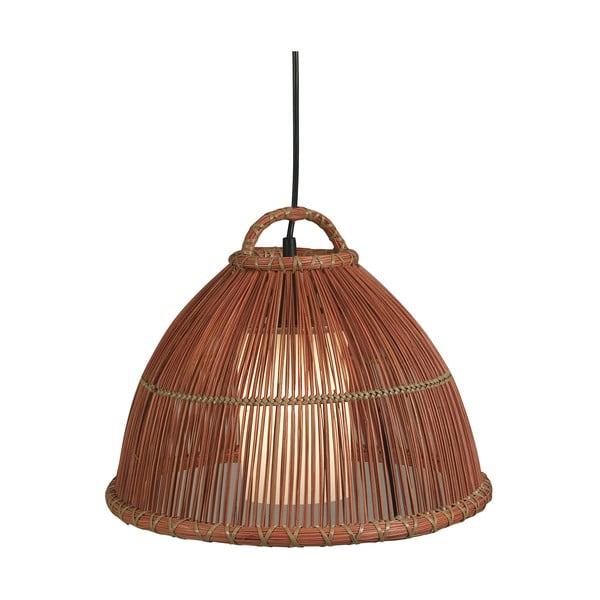 Lampa wisząca Nature, czekoladowa