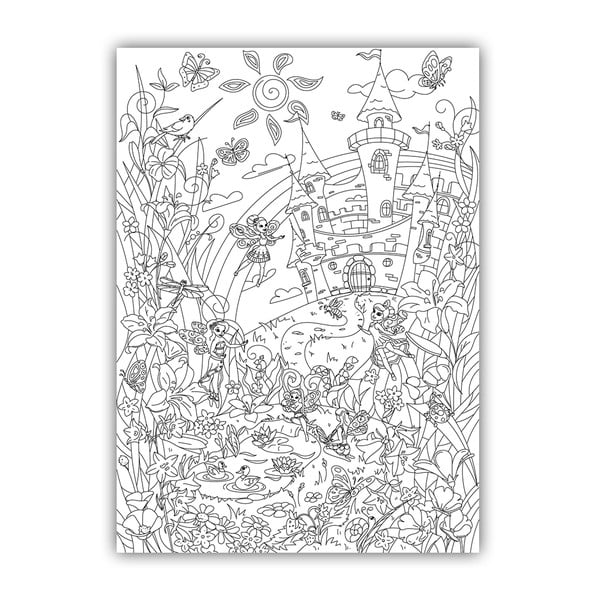 Kolorowanka Creative Gifts Fabolous Fairy