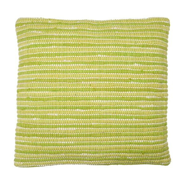 Poduszka Green Stripes, 60x60 cm