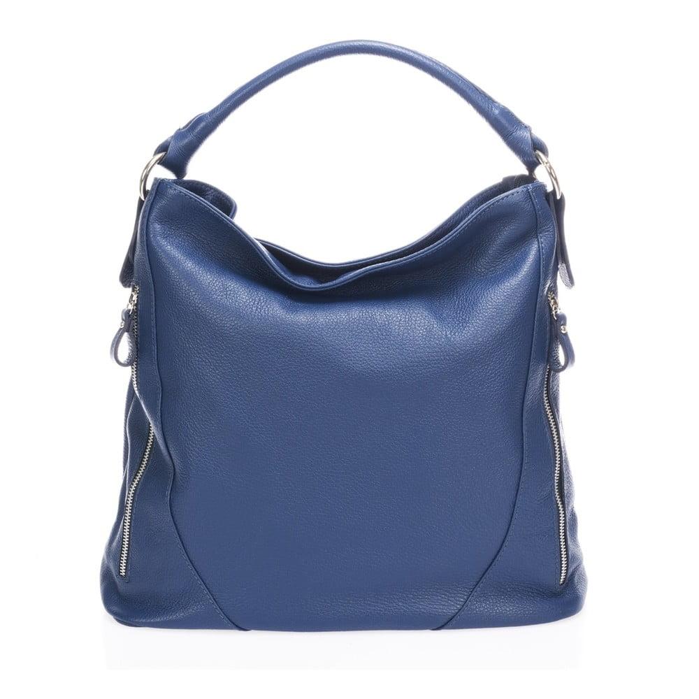 f0b8affebd346 Niebieska torebka skórzana Markese Ursine | Bonami