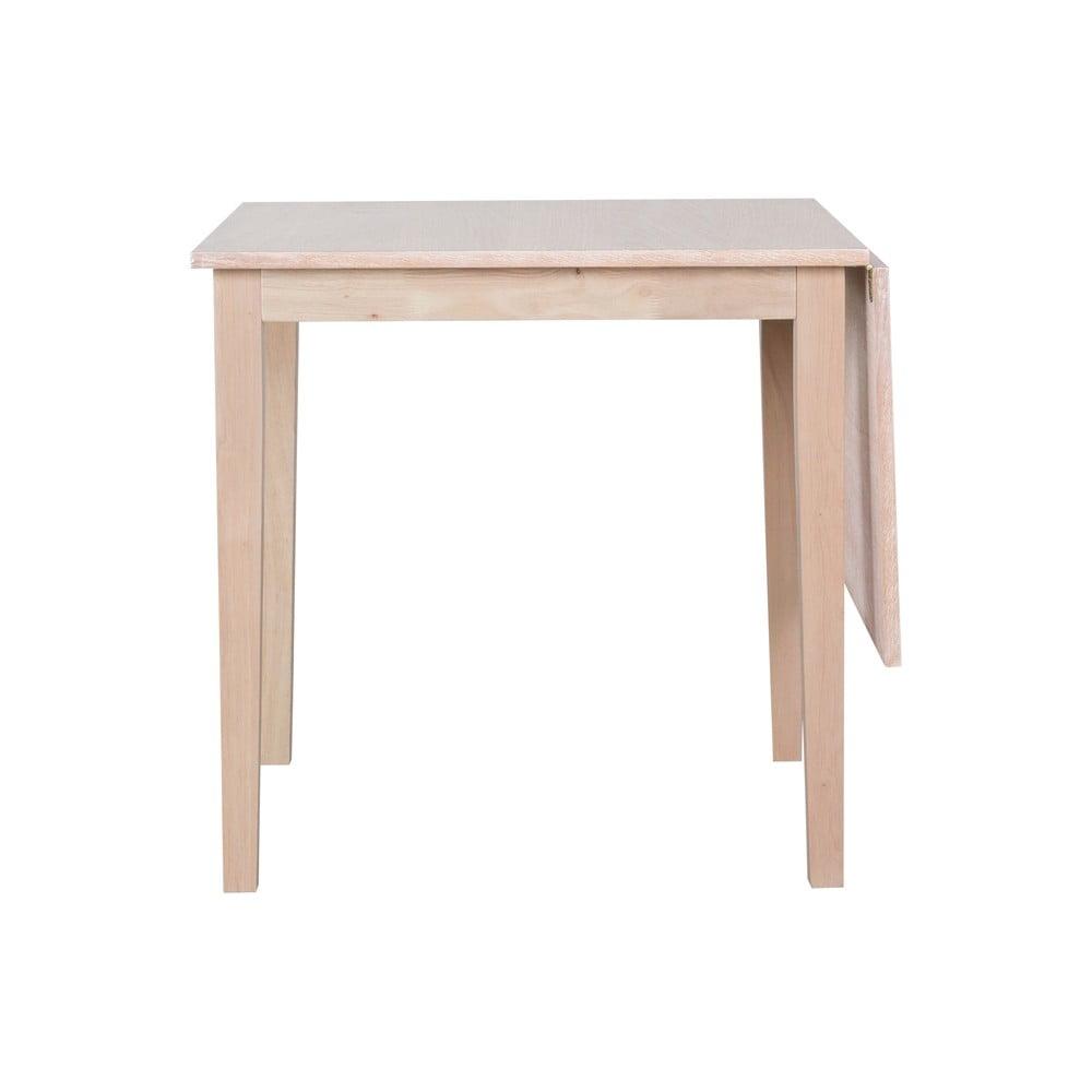 Rozkładany stół z drewna dębowego Canett Saltford, 75x75 cm