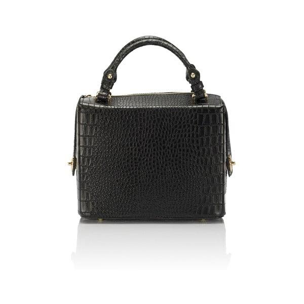 Czarna torebka skórzana Lisa Minardi Luciano