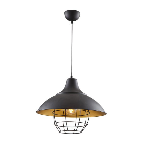 Lampa sufitowa In Industry Black/Gold