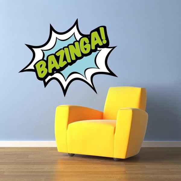 Naklejka ścienna Bazinga!