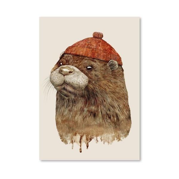 """Plakat """"River Otter"""", 30x42 cm"""
