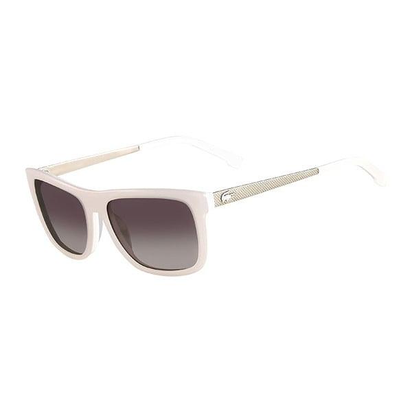 Damskie okulary przeciwsłoneczne Lacoste L695 White
