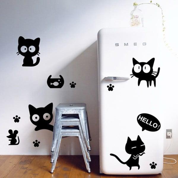 Naklejka dekoracyjna Diver Cat, 76x72 cm