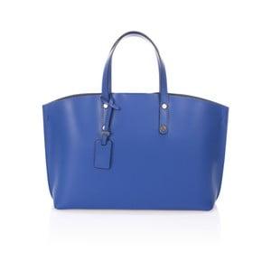 Niebieska torebka skórzana Giulia Massari Nala