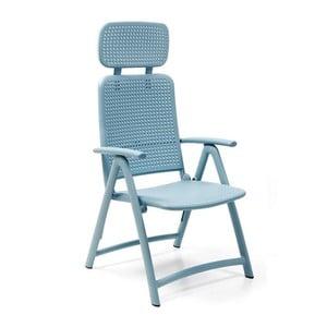 Jasnoniebieski fotel ogrodowy Nardi Garden Aquamarina
