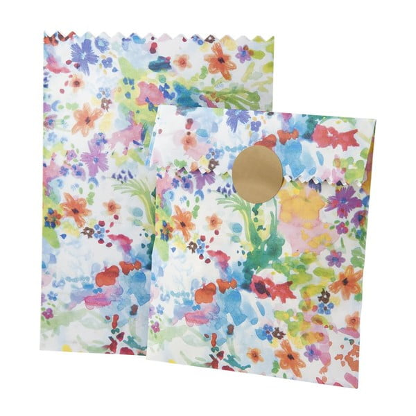 Zestaw 10 papierowych torebek Bouche