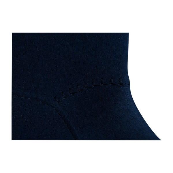 Granatowe krzesło DAN–FORM Hype