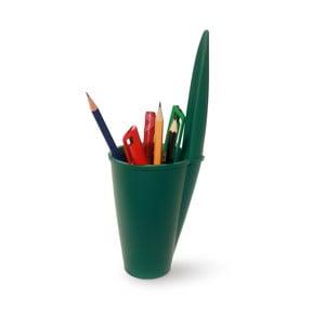 Zielony organizer biurowy J-Me Lid Pot
