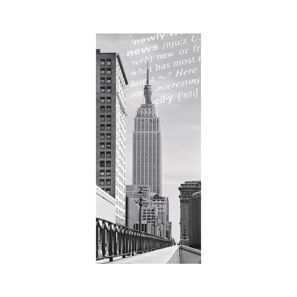 Naklejka na drzwi Eurographics Skyscraper