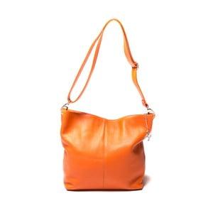 Skórzana torebka  Luisa Vanini 1029 Arancio