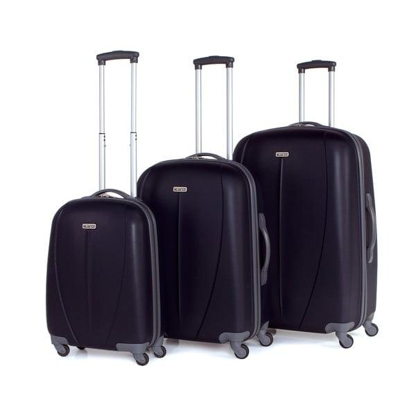 Zestaw 3 walizek Tempo Negro
