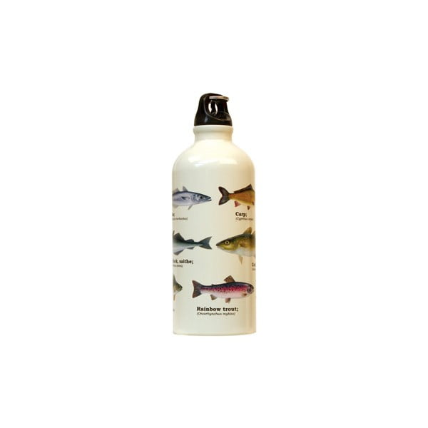 Butelka na wodę Gift Republic Multi Fish, 500 ml