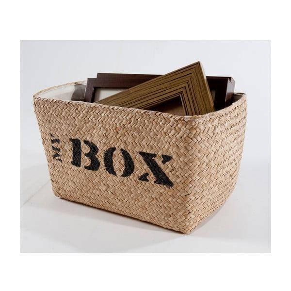 Wiklinowy koszyk My Box, 34x21 cm