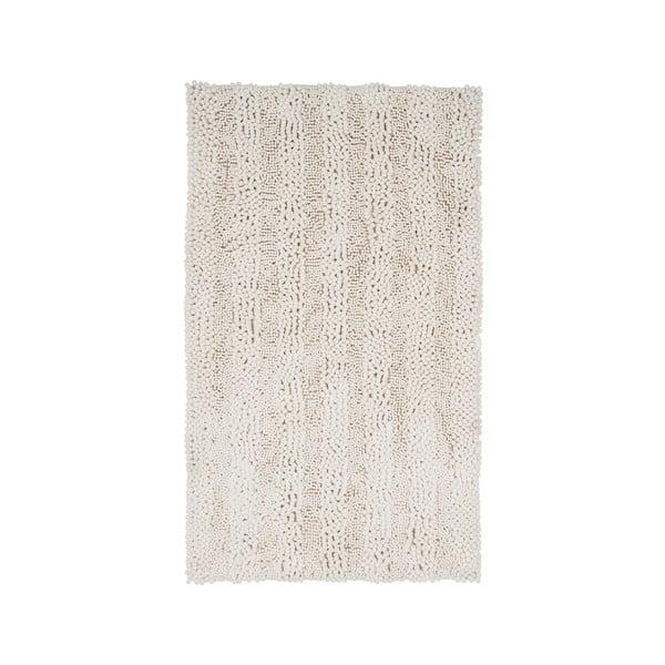 Dywanik łazienkowy Surface Cream, 65x110 cm