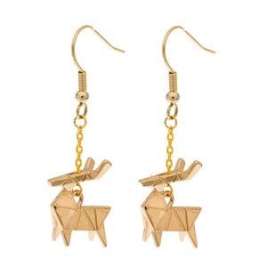 Kolczyki Deer Origami