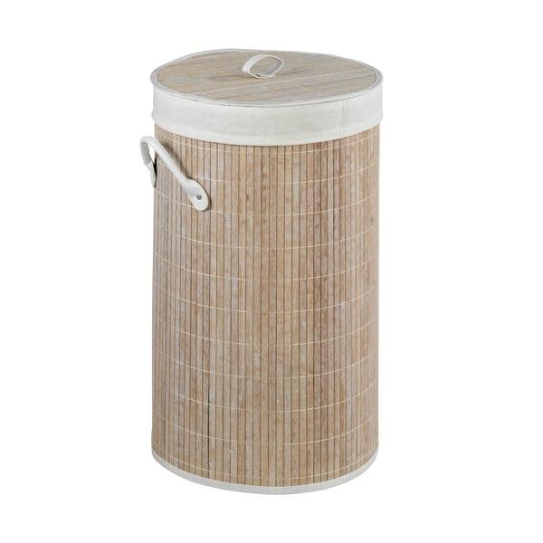 Bambusowy kosz na pranie Wenko Lilia