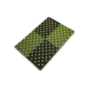 Zielona wycieraczka Zebrino