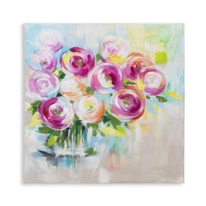 Obraz ręcznie malowany Mauro Ferretti Plant, 80x80cm