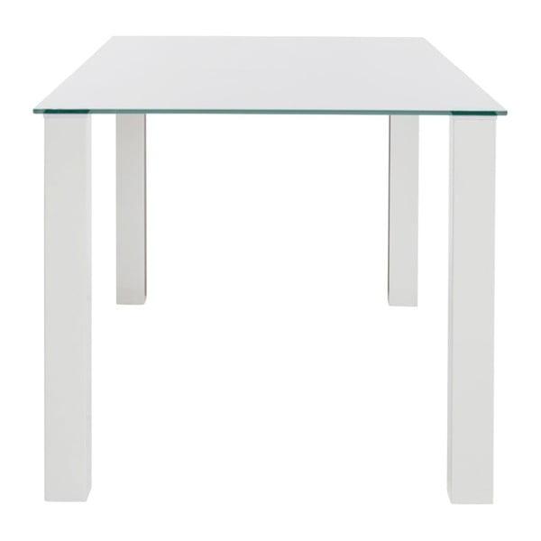 Biały stół 13Casa Nake, 80x80cm