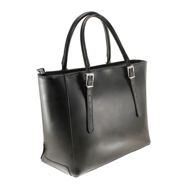 Czarna torebka skórzana Tami