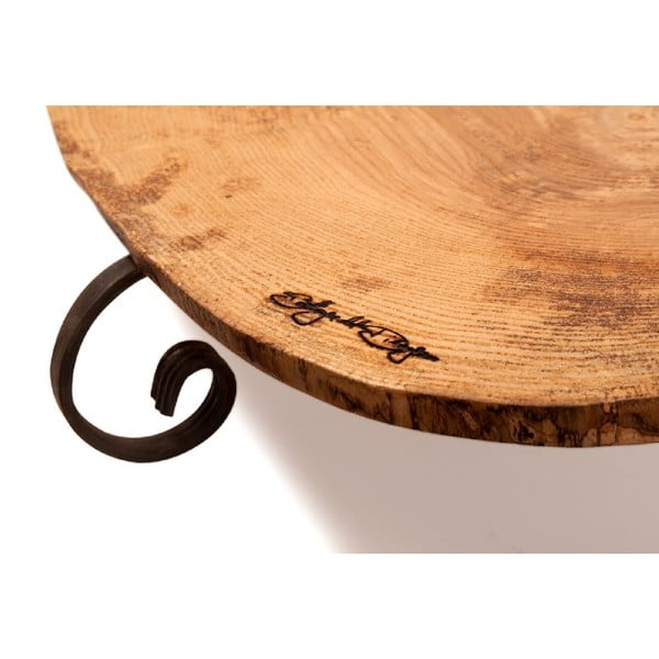 Taca drewniana Slice Vintage