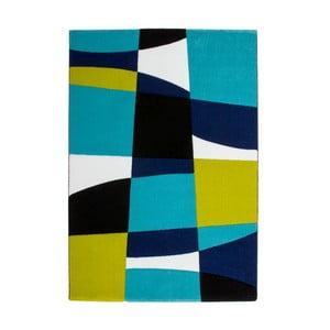 Dywan Lifestyle 171 czarny/ niebieski, 120x170 cm