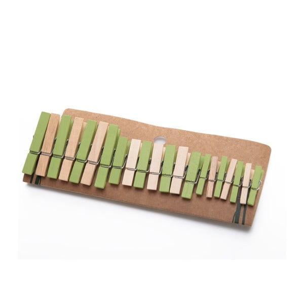 Komplet 21 spinaczy bambusowych Bambum Chacha