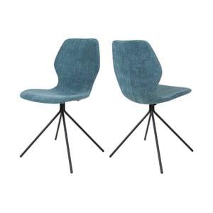 Niebieskie krzesło Canett Tristian
