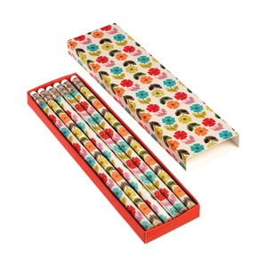 Zestaw 6 ołówków Rex London Poppy
