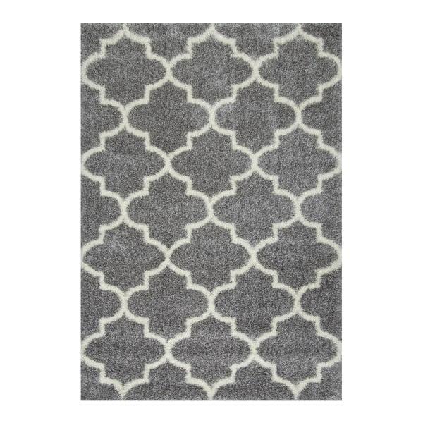 Dywan nuLOOM Sinto Grey, 160x228 cm