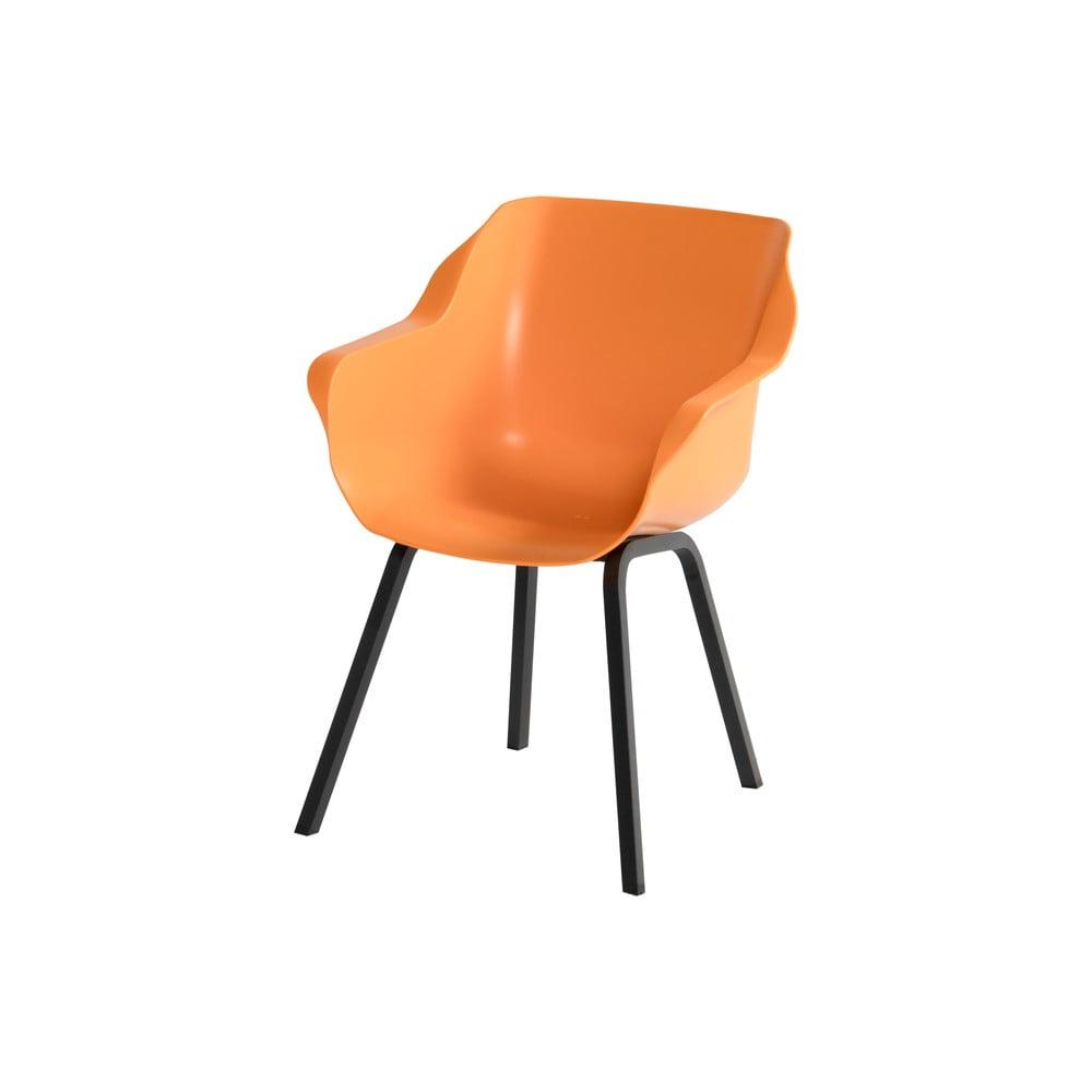 Zestaw 2 pomarańczowych krzeseł ogrodowych Hartman Sophie