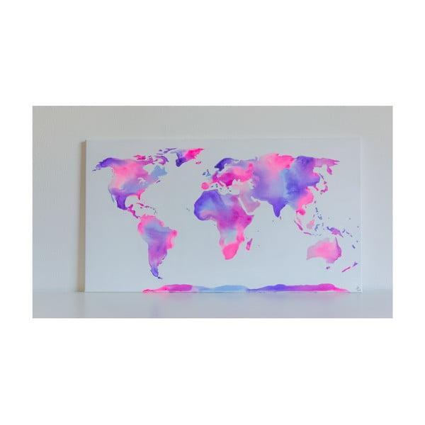 Obraz Violet World, 50x90 cm