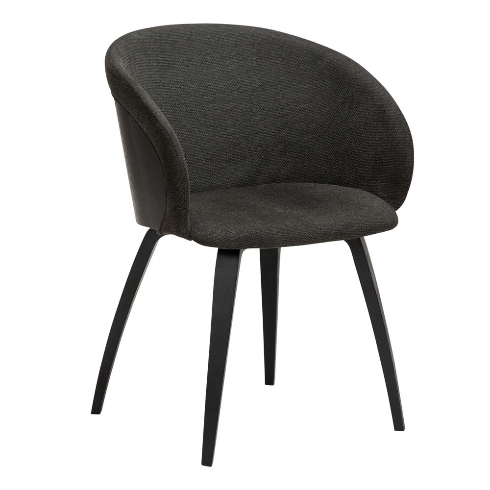 Czarne krzesło DAN-FORM Denmark Imo