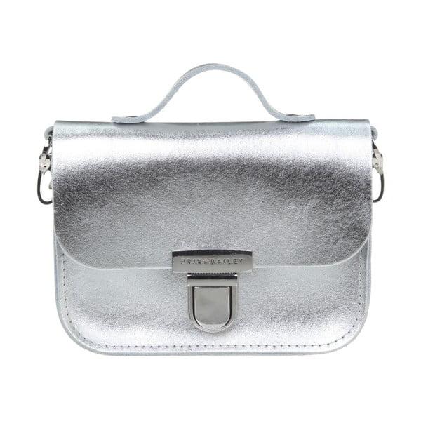 Skórzana torebka Alton Silver