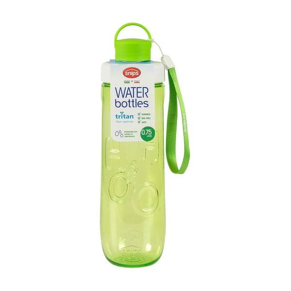 Zielona butelka na wodę Snips Water, 750 ml
