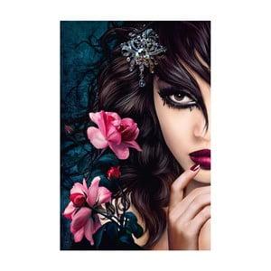 Plakat wielkoformatowy Midnight Rose, 115x175 cm