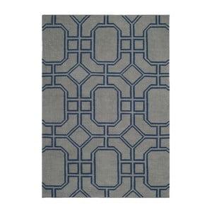 Dywan wełniany Safavieh Bellina Blue, 91x152 cm