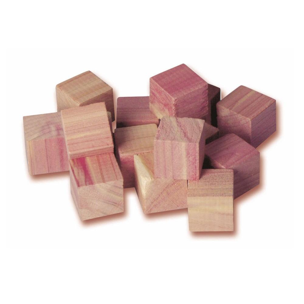 Zestaw 16 kulek z drewna cedrowego do szafy Compactor