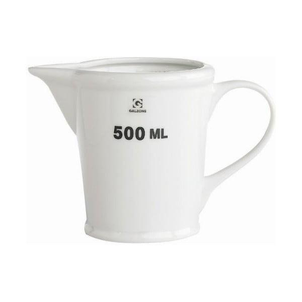 Porcelanowa miarka Galzone, 500 ml