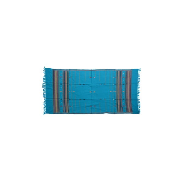 Szal/pled Manton Azul, 120x240 cm