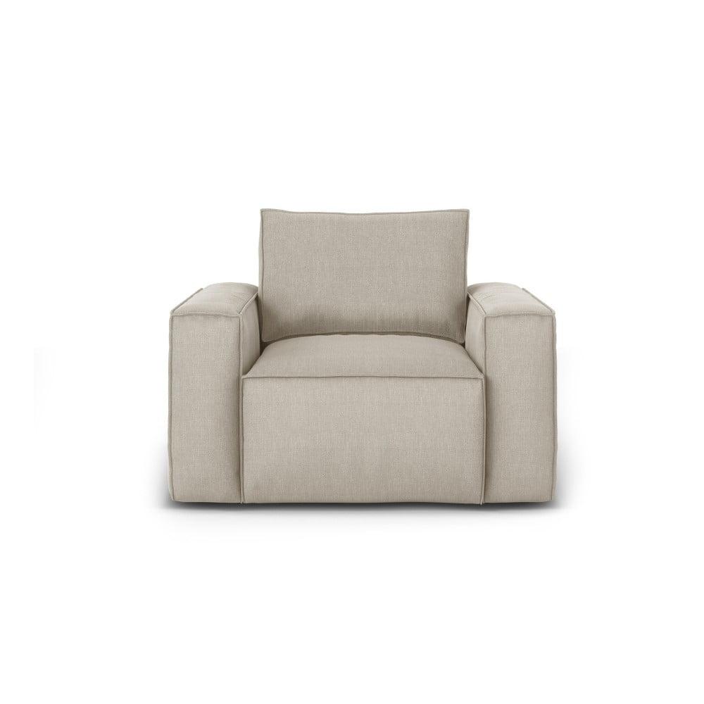 Beżowy fotel Cosmopolitan Design Miami