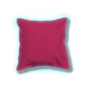 Zestaw 2 różowych świecących poduszek odpowiednich na zewnątrz Sunvibes, 45x45 cm