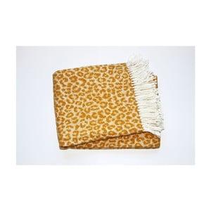 Koc Leopard Gold, 140x180 cm