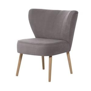 Szarobrązowy fotel My Pop Design Hamilton
