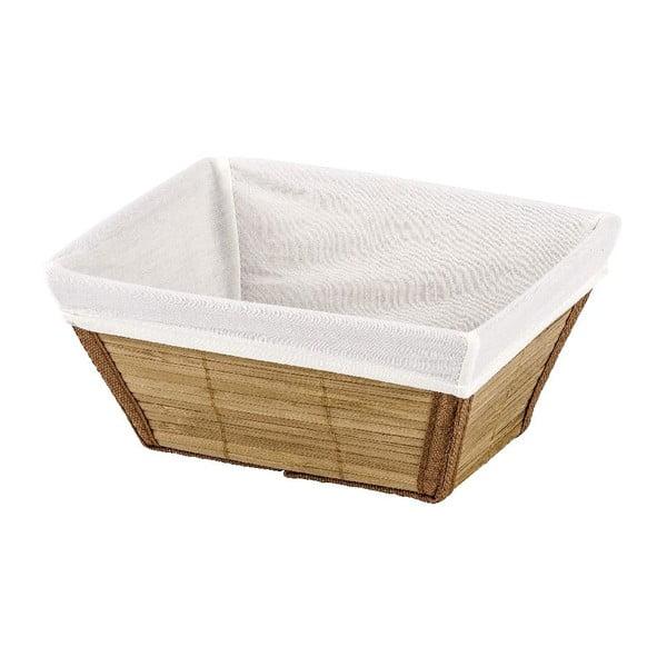 Naturalny koszyk Wenko Bamboo, 14 x 20 cm